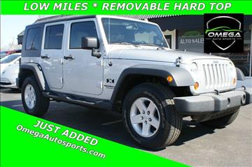 2008 Jeep Wrangler Unlimited for sale in Noblesville, IN