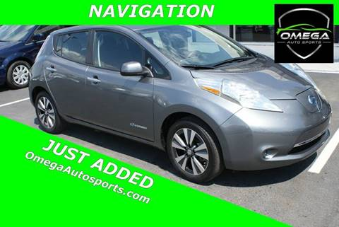 2015 Nissan LEAF for sale in Noblesville, IN