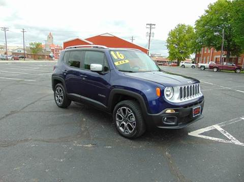 2016 Jeep Renegade for sale at Randy Bland Used Cars in Nevada MO
