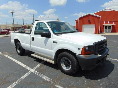 2001 Ford F-250 Super Duty for sale at Randy Bland Used Cars in Nevada MO