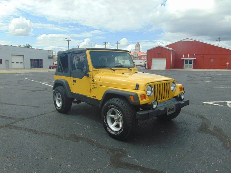 2000 Jeep Wrangler for sale at Randy Bland Used Cars in Nevada MO