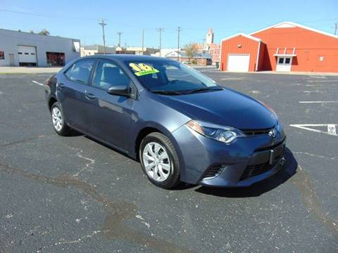 2016 Toyota Corolla for sale in Nevada, MO