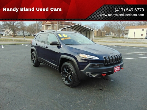 2016 Jeep Cherokee for sale in Nevada, MO