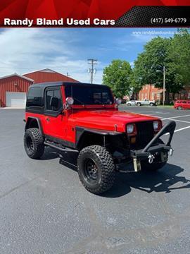 1993 Jeep Wrangler for sale in Nevada, MO