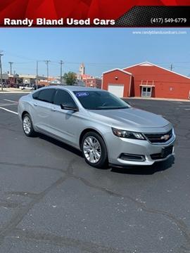 2016 Chevrolet Impala for sale in Nevada, MO