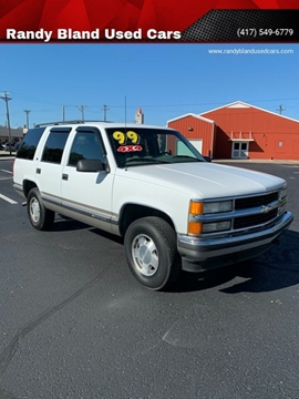 1999 Chevrolet Tahoe for sale in Nevada, MO