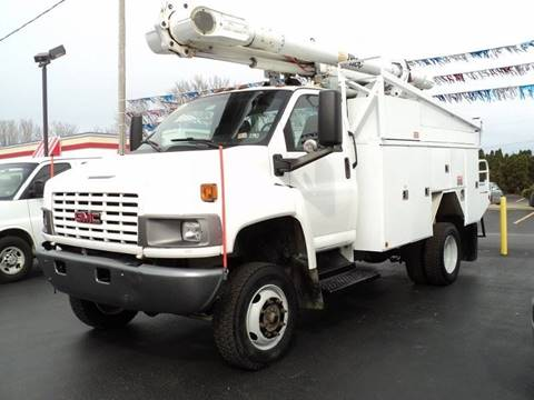 Utility service trucks for sale for Motor city gmc service department