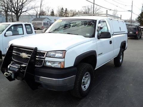 2005 Chevrolet Silverado 2500HD for sale in Erie, PA