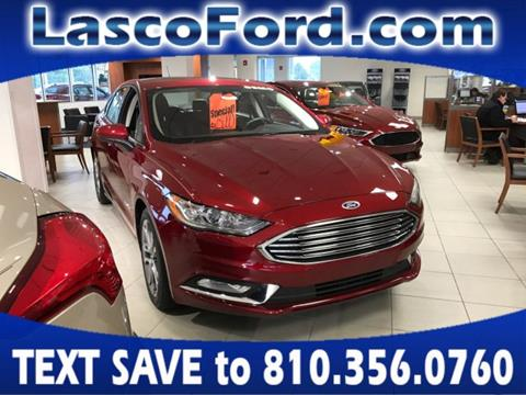 2017 Ford Fusion Hybrid for sale in Fenton, MI