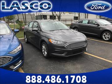 2017 Ford Fusion for sale in Fenton, MI