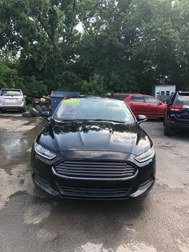 2013 Ford Fusion for sale in Troy, NY