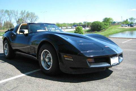 1980 Chevrolet Corvette for sale at SYNERGY MOTOR CAR CO in Maplewood MN
