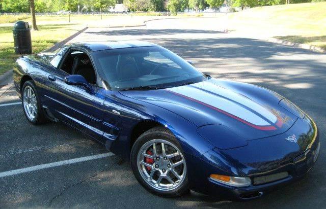 2004 Chevrolet Corvette for sale at SYNERGY MOTOR CAR CO in Forest Lake MN