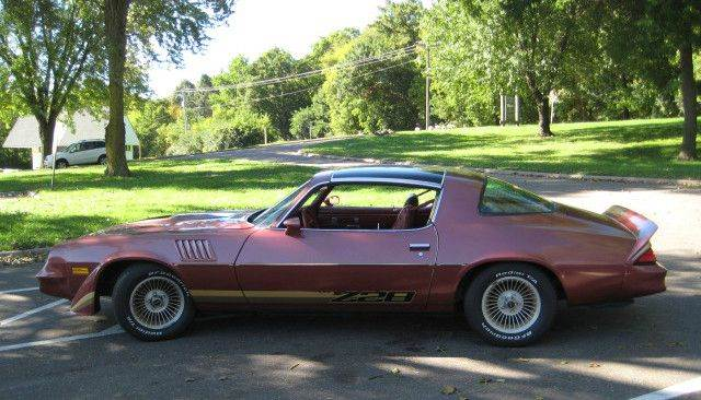 1979 Chevrolet Camaro for sale at SYNERGY MOTOR CAR CO in Forest Lake MN