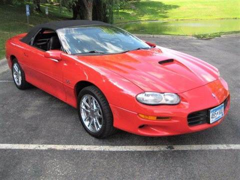 2001 Chevrolet Camaro for sale at SYNERGY MOTOR CAR CO in Forest Lake MN