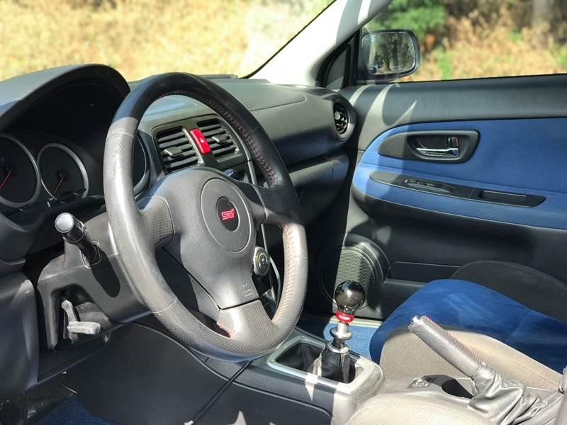 2006 Subaru Impreza Awd Wrx Sti 4dr Sedan Wsilver Painted Wheels In