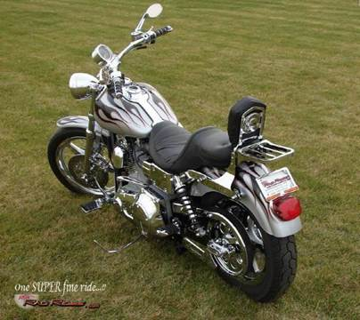 2001 Harley-Davidson Dyna for sale at Ron's Rad Rides LLC in Big Lake MN