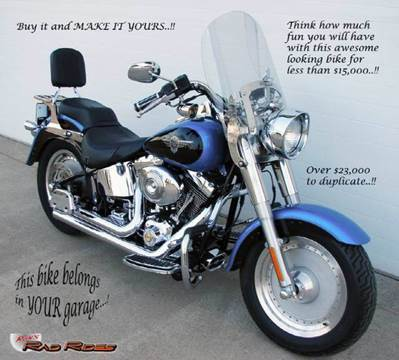 2004 Harley-Davidson Fatboy for sale at Ron's Rad Rides LLC in Big Lake MN