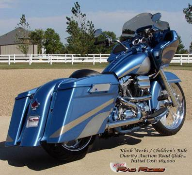 2007 Harley-Davidson Road Glide for sale at Ron's Rad Rides LLC in Big Lake MN
