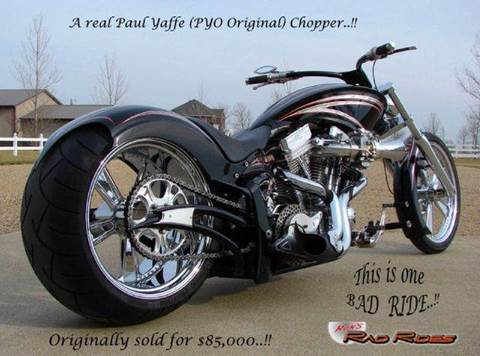 2006 Paul Yaffe Chopper (PYO Original) for sale at Ron's Rad Rides LLC in Big Lake MN