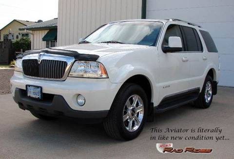 2004 Lincoln Aviator for sale at Ron's Rad Rides LLC in Big Lake MN