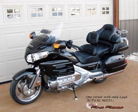 2010 Honda Goldwing for sale at Ron's Rad Rides LLC in Big Lake MN