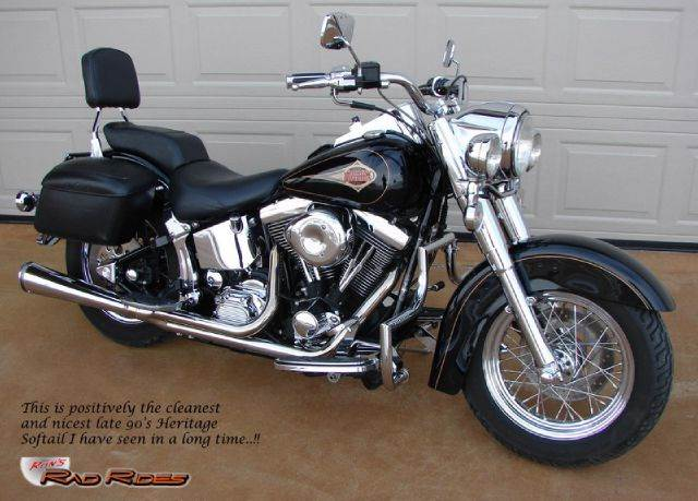 1997 Harley-Davidson Heritage Softail Classic for sale at Ron's Rad Rides LLC in Elk River MN