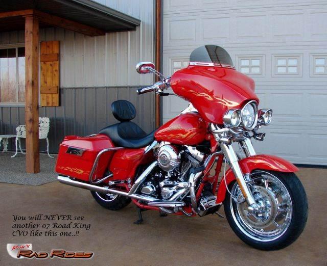 2007 Harley-Davidson Road King for sale at Ron's Rad Rides LLC in Elk River MN