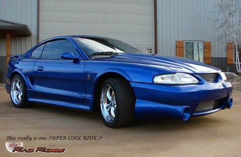 1995 Ford Mustang for sale at Ron's Rad Rides LLC in Elk River MN