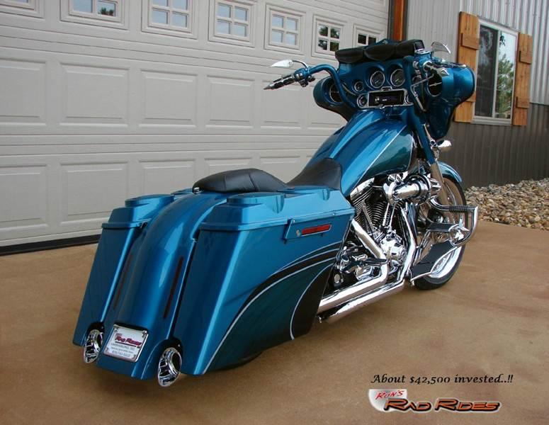 2006 Harley-Davidson Street Glide for sale at Ron's Rad Rides LLC in Elk River MN