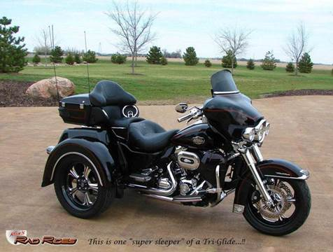 2011 Harley-Davidson Ultra Classic Tri-Glide Custom for sale at Ron's Rad Rides LLC in Big Lake MN