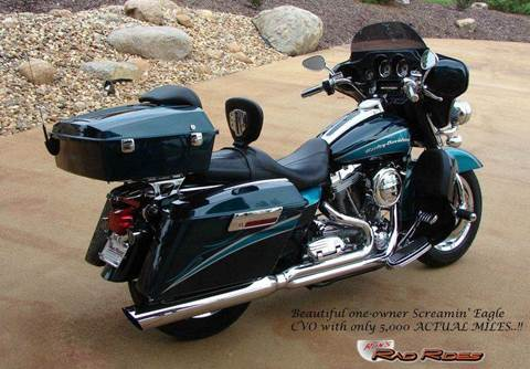 2005 Harley-Davidson Electra Glide CVO for sale at Ron's Rad Rides LLC in Big Lake MN