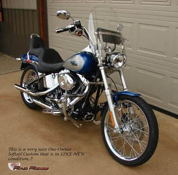 2009 Harley-Davidson Softail Custom for sale at Ron's Rad Rides LLC in Big Lake MN