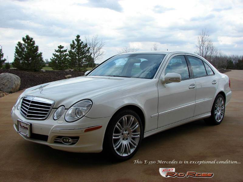 2008 Mercedes-Benz E-Class for sale at Ron's Rad Rides LLC in Elk River MN