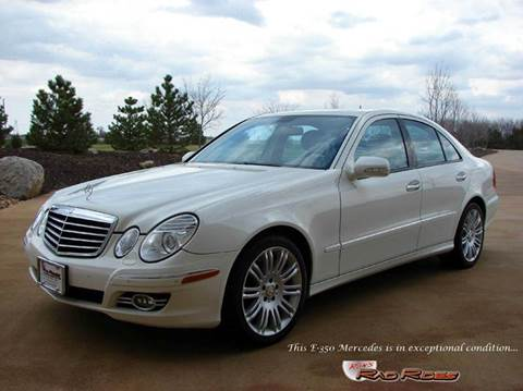 2008 Mercedes-Benz E-Class for sale at Ron's Rad Rides LLC in Big Lake MN