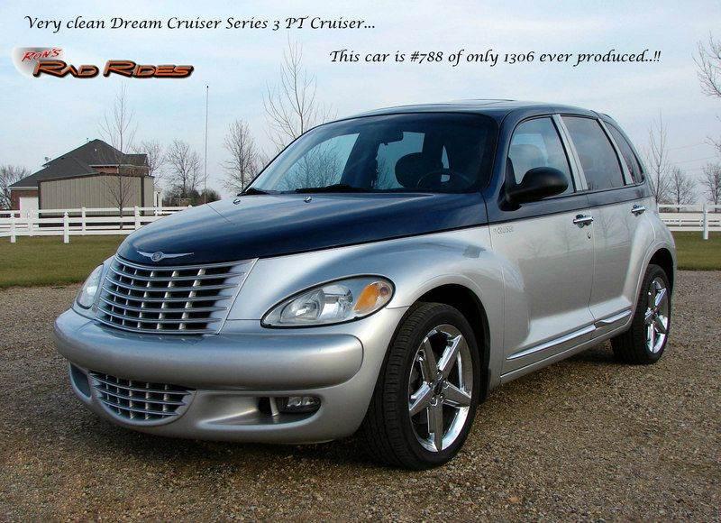 2004 Chrysler PT Cruiser for sale at Ron's Rad Rides LLC in Big Lake MN
