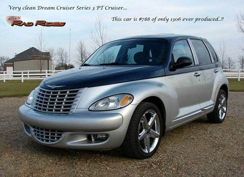 2004 Chrysler PT Cruiser for sale at Ron's Rad Rides LLC in Big Lake MN