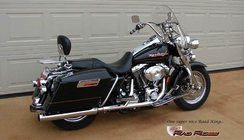 2002 Harley-Davidson Road King Classic for sale at Ron's Rad Rides LLC in Elk River MN