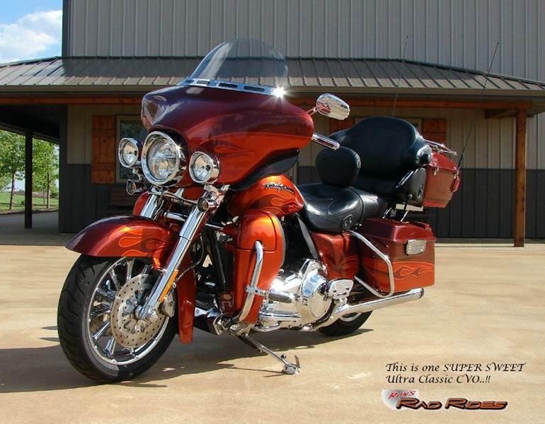 2010 Harley-Davidson Ultra Classic Electra Glide CV for sale at Ron's Rad Rides LLC in Big Lake MN