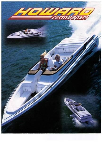 2000 Howard Customs Boat Howard 22 Sport for sale at Ron's Rad Rides LLC in Big Lake MN