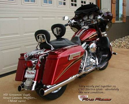 2005 Harley-Davidson Electra Glide - CVO for sale at Ron's Rad Rides LLC in Big Lake MN