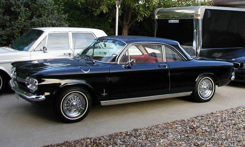1962 Chevrolet Corvair Monza for sale at Ron's Rad Rides LLC in Big Lake MN