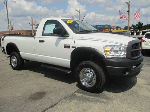 2008 Dodge Ram Pickup 2500 for sale at CJ's Auto Store LTD in Toledo OH