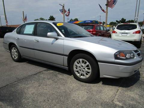 2001 Chevrolet Impala for sale at CJ's Auto Store LTD in Toledo OH