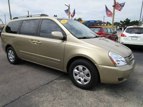 2006 Kia Sedona for sale at CJ's Auto Store LTD in Toledo OH