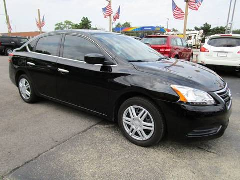 2014 Nissan Sentra for sale at CJ's Auto Store LTD in Toledo OH