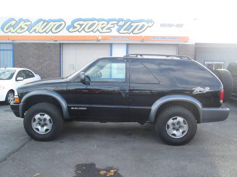 2004 Chevrolet Blazer for sale at CJ's Auto Store LTD in Toledo OH