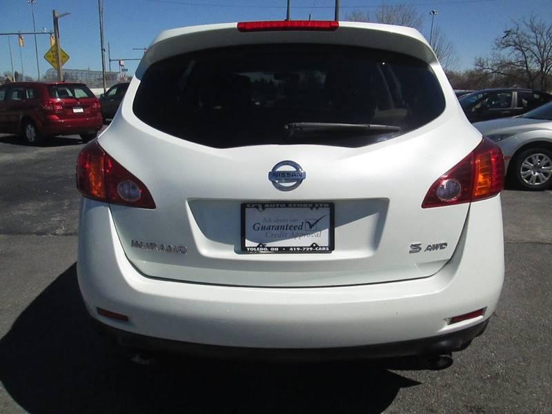 2009 Nissan Murano for sale at CJ's Auto Store LTD in Toledo OH