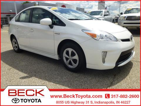 2014 Toyota Prius for sale in Indianapolis IN