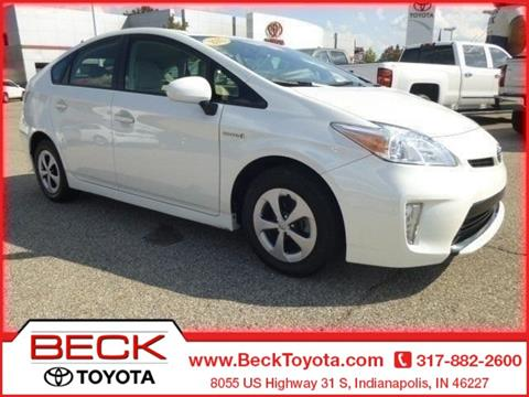 2015 Toyota Prius for sale in Indianapolis IN